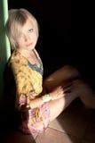 Sitting Blonde Stock Photos