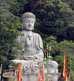 Sitting booda. An image of a giant sitting buddha royalty free stock image