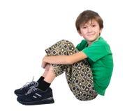 Sitting Boy Stock Photography