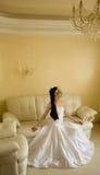 Sitting bride Royalty Free Stock Photos