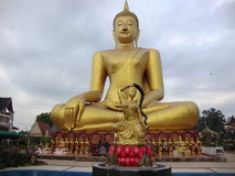 Sitting Buda. Stock Images