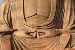 Sitting buddha Royalty Free Stock Images