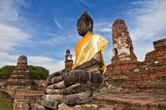 Sitting Buddha Royalty Free Stock Photos