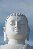 Sitting Buddha image face Royalty Free Stock Images