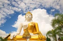 Sitting Buddha stock images