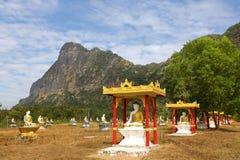 Sitting Buddha reliquary park, Myanmar Royalty Free Stock Photo