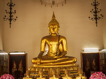 Sitting buddha in the royal palace in Bangkok, Thailand Stock Photos