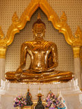 Sitting buddha in the royal palace in Bangkok, Thailand Royalty Free Stock Photo