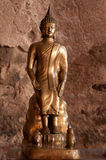 Sitting Buddha Statue. Wonderful sitting Buddha Statue in the old temple of Ayutthaya Stock Photography