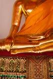 Sitting Buddha statue  details, Thailand Stock Images