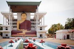 Sitting Buddha statue Stock Image