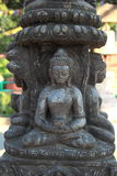 Sitting Buddha statue. Stock Photo