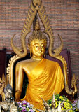Sitting Buddha statue Royalty Free Stock Images