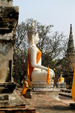 Sitting Buddha statue Royalty Free Stock Image