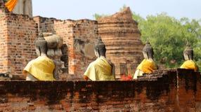 Sitting Buddha statue Stock Photography