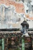 Sitting buddha statue Stock Photos
