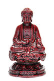 Sitting Buddha Statue Religious Figurine Isolated royalty free stock image