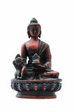 Sitting Buddha Statue Religious Figurine Isolated Royalty Free Stock Images