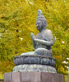 Sitting Buddha, Tokyo, Japan Royalty Free Stock Photography