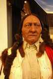 Sitting Bull Wax Figure Stock Photography