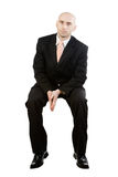 Sitting businessman Royalty Free Stock Photography