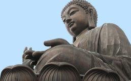 Sitting Chinese buddha Stock Image