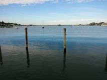 Sitting on the Dock of the bay Stock Photography