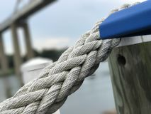 Sitting on the dock of the bay Royalty Free Stock Photography