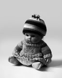 SITTING DOLL Stock Image