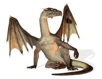 Sitting Dragon Stock Image