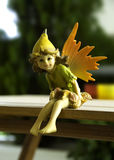 Sitting Fairy Royalty Free Stock Photography