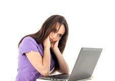 Sitting, Girl, Product Design, Long Hair stock photo