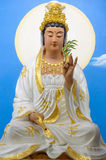 Sitting Guan yin Royalty Free Stock Images