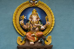 Sitting Lord Ganesha Stock Photo