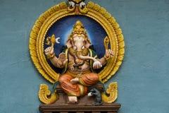 Sitting Lord Ganesha stock photo