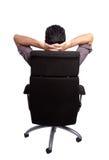 Sitting man�s back Stock Image