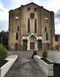 Basilica of San Francesco in Bologna stock photo