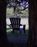 Sitting Place. Restful place to sit at a monastery Royalty Free Stock Images