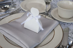sitting place card Stock Images