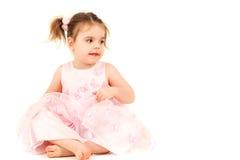 Sitting princess Royalty Free Stock Photo