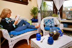 Sitting Room Stock Photography