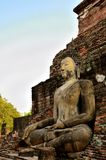 Sitting and smile Buddha Stock Image
