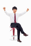 Successful business man Royalty Free Stock Photo