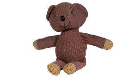 Sitting teddy Royalty Free Stock Photography
