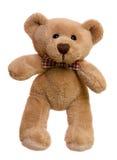 Sitting teddy bear Stock Photos