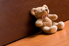 Sitting teddy bear Stock Photo