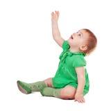 Sitting toddler Stock Photo