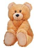 Sitting toy teddy bear Stock Photos