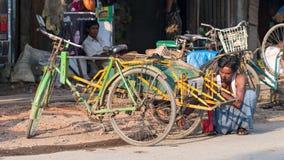 Sittwe, η πρωτεύουσα του κράτους Rakhine στο Μιανμάρ Στοκ εικόνα με δικαίωμα ελεύθερης χρήσης