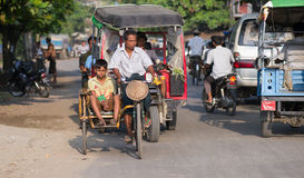Sittwe, the capital of the Rakhine State in Myanmar Stock Images